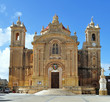 church in village Qrendi,island Malta