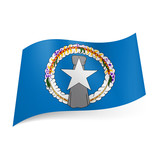 State flag of Northern Mariana Islands