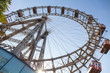 Ferris Wheel in Vienna, Austria. - 62095851