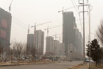 air pollution china shenyang Beijing city