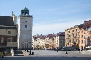 Castle Square in Warsaw