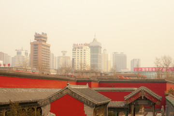 air pollution china shenyang Beijing city