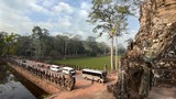 cambodia, angkor wat, west gate