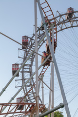 Wiener Riesenrad is a Ferris Wheel in Vienna, Austria