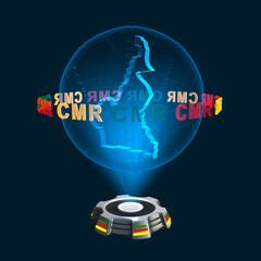 Icon Kamerun Hologramm