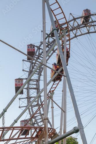 Wiener Riesenrad is a Ferris Wheel in Vienna, Austria