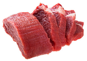 fresh raw beef steak meat