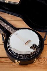 Banjo im Koffer