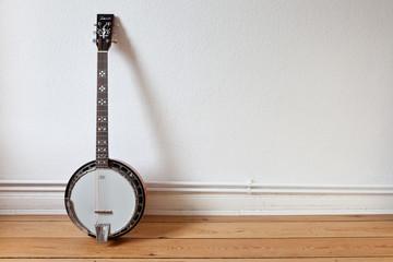 Banjo an der Wand