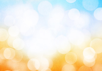 Abstract blurred bokeh grunge background