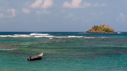 Caribbean Boat Time Lapse