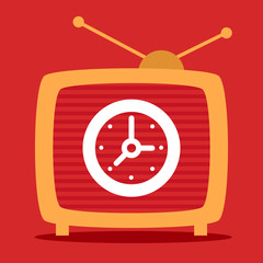 retro television shows on the screen time