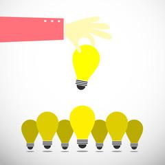 keep up bulb idea