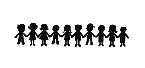 best friends forever silhouette