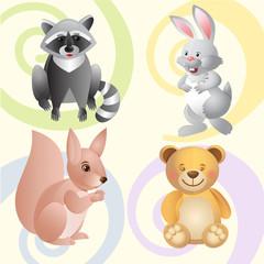 Funny toys for pleasure of children