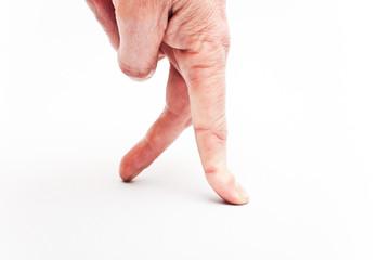 doigts qui marchent