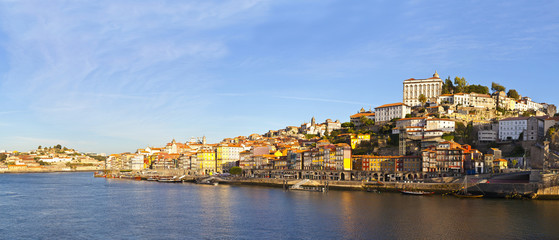 lSummer view on Porto, Portugal