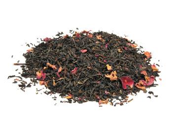 Rose infused black tea