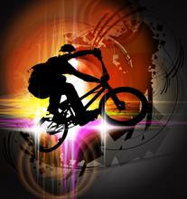 BMX rowerzysta
