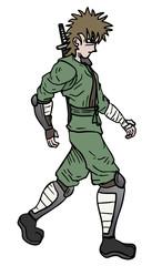 Ninja walking