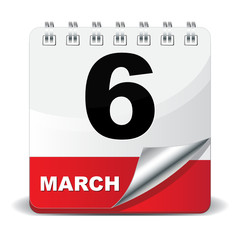 6 MARCH ICON