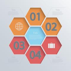 Vector modern infographic element design. Eps 10
