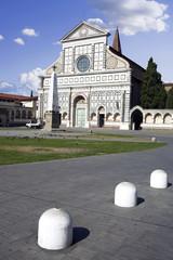 Santa Maria Novella s facade in Florence, Italy.