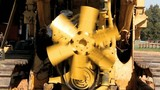 Hand Spinning Diesel Engine Fan Blade