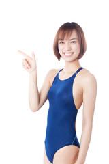 水着姿の女性