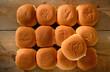 Bakers dozen bread rolls