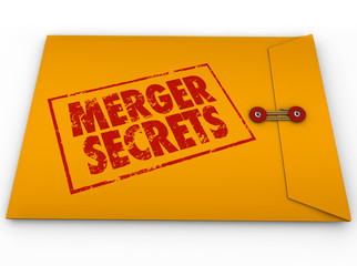 Merger Secrets Yellow Envelope Classified Information