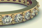 The beauty wedding ring - 62110066