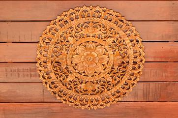 Thai  wood craft