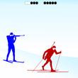 Biathlon competition-1