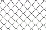 Metal fence twist texture background