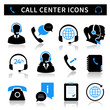 Call Center Service Icons Set - 62113068