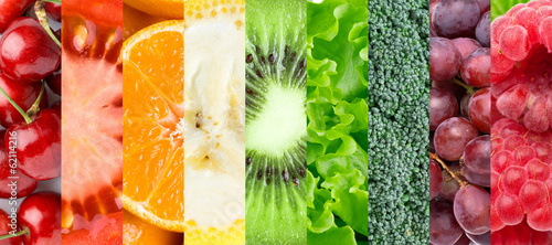 canvas print picture Healthy food background