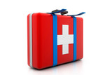 3d illustration of first aid kit