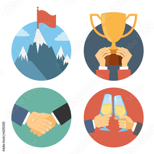 business leadership illustrations