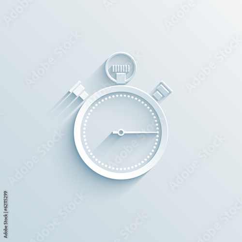 chronometer paper icon