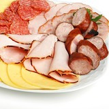 platter of cold meats