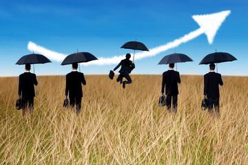 Insurance Agent concept