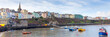 Panoramic view of Tenby Pembrokeshire Wales UK