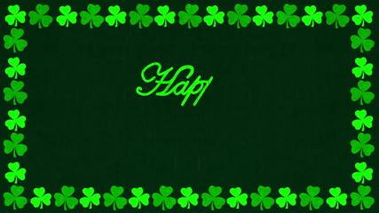 Happy St. Patrick's Day Greeting Animation