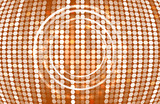 Brown circular shape abstract background