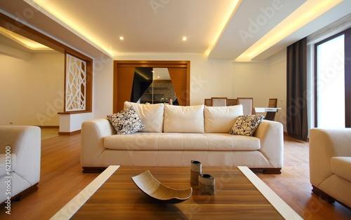 Leinwanddruck Bild Modern living room design