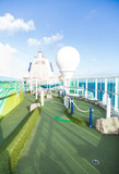 Green Miniature Golf Course on Cruise Ship
