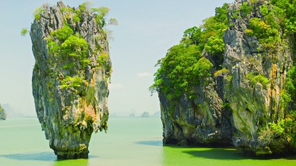James Bond island (Ko Tapu), Phang Nga, Thailand