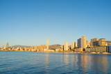 Benidorm on early morning
