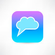 Bubble speech icon